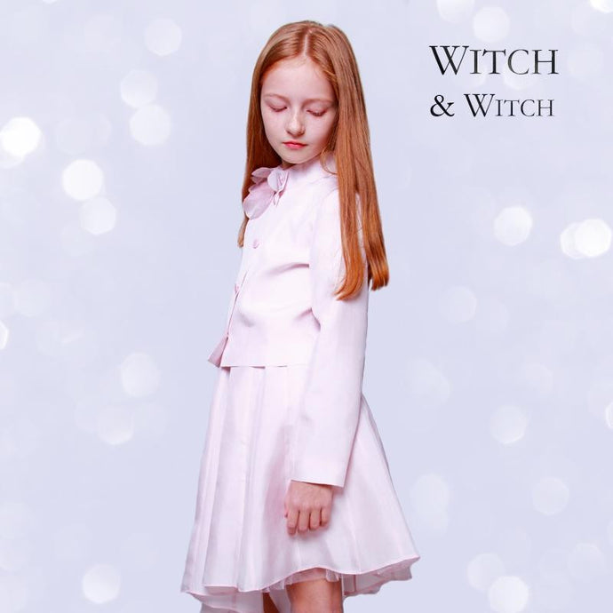 witch-witch - PT07 -  Silk Jacket with flower - Witch & Witch - Jacket