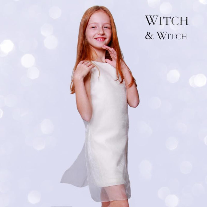 witch-witch - PT13 -  Simple Elegant Silk Dress - Witch & Witch - Dress