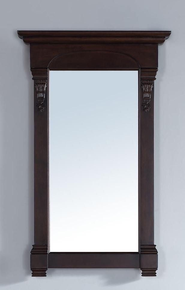 "Brookfield 26"" Mirror, Burnished Mahogany - vanitiesdepot.com"