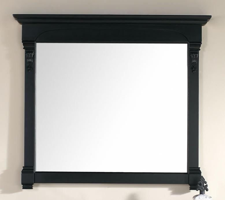 "Brookfield 47.25"" Mirror, Antique Black, James Martin Vanities - vanitiesdepot.com"