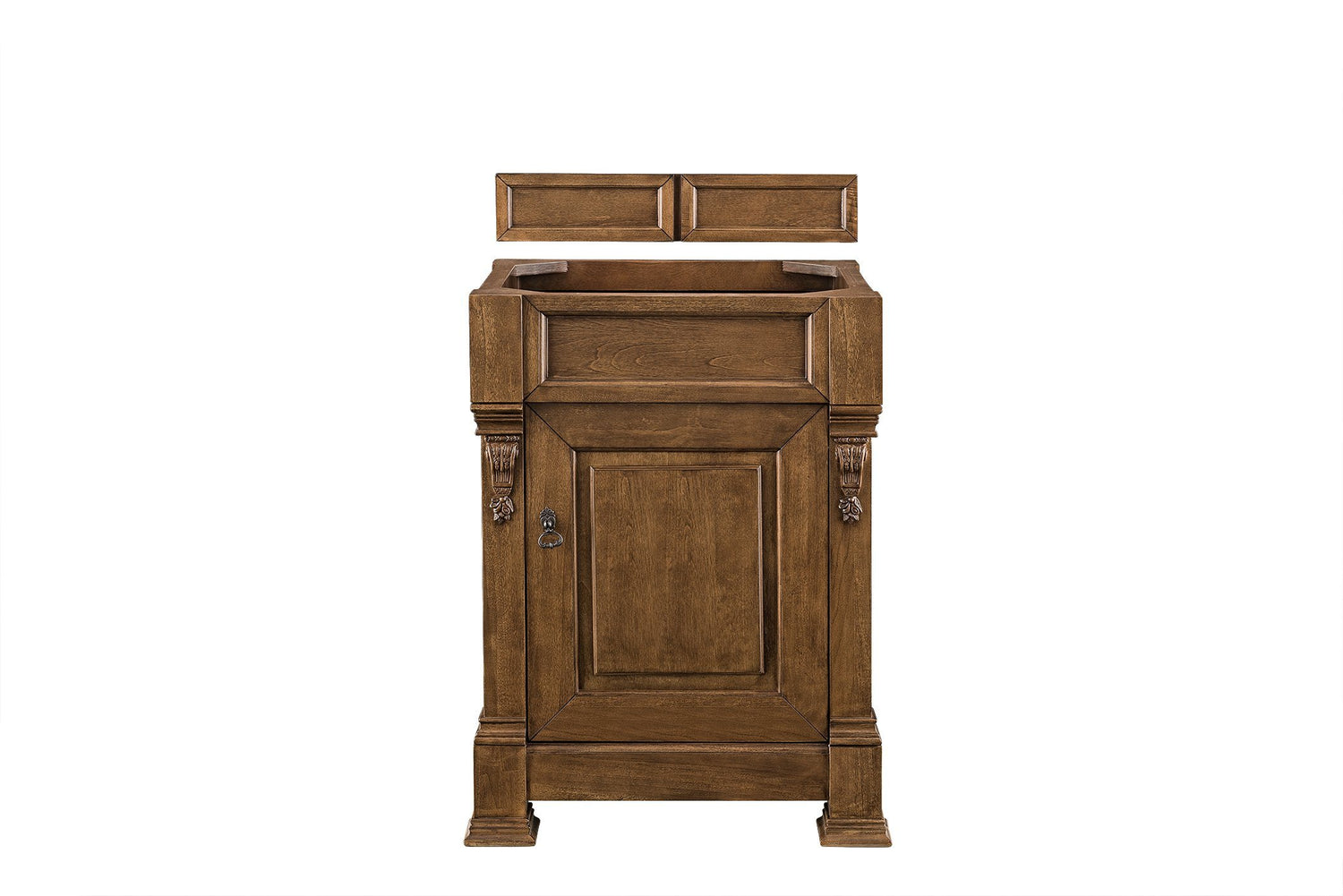 "26"" Brookfield Country Oak Single Bathroom Vanity, James Martin Vanities - vanitiesdepot.com"