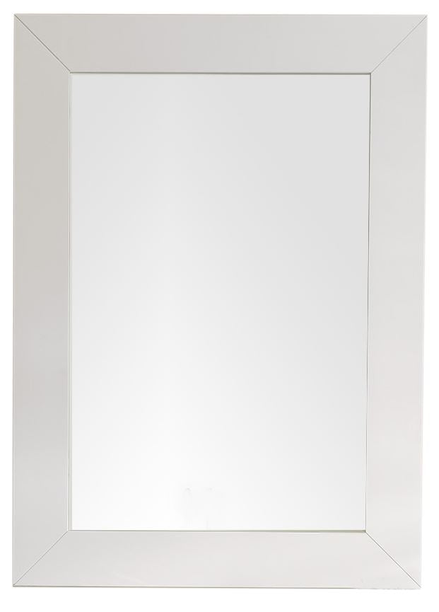 "Weston 29"" Rectangular Mirror, Bright White, James Martin Vanities - vanitiesdepot.com"