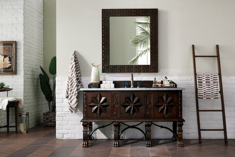 "60"" Balmoral Single Sink Bathroom Vanity, James Martin Vanities - vanitiesdepot.com"