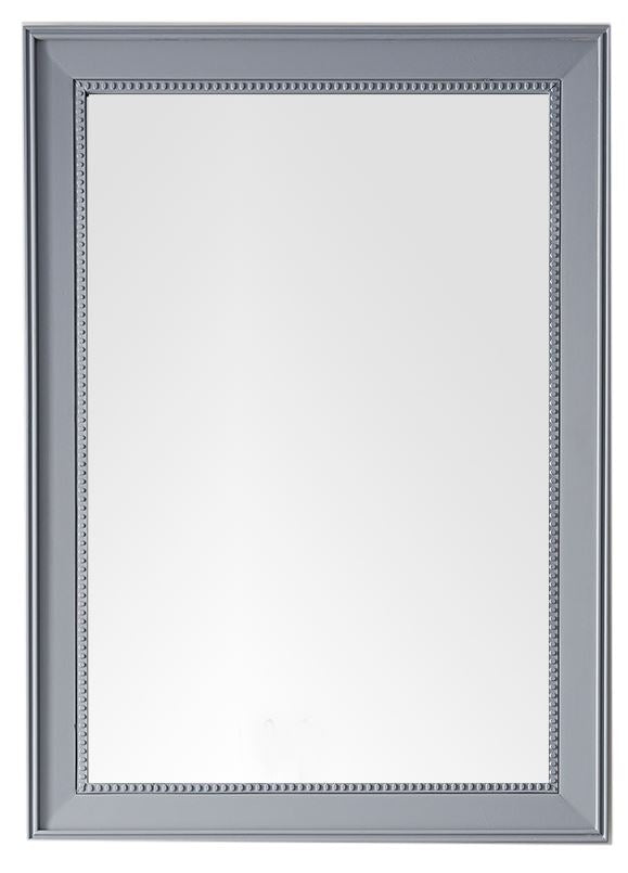 "Bristol 29"" Rectangular Mirror, Silver Gray, James Martin Vanities - vanitiesdepot.com"