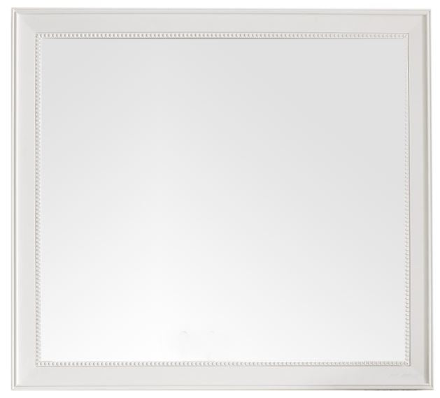 "Bristol 44"" Rectangular Mirror, Bright White, James Martin Vanities - vanitiesdepot.com"