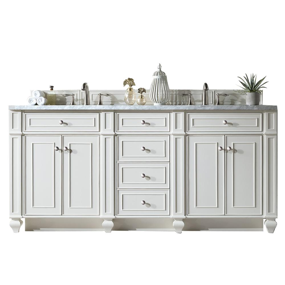 72 Quot Bristol Cottage White Double Bathroom Vanity