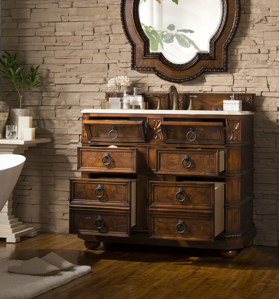 "41"" Regent Single Sink Bathroom Vanity, James Martin Vanities - vanitiesdepot.com"