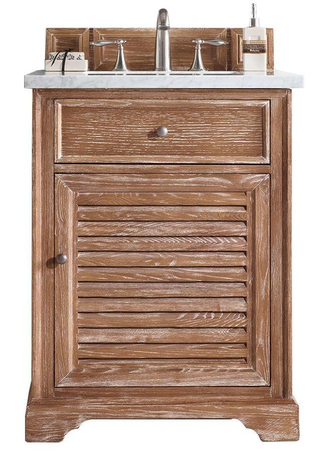 "26"" Savannah Driftwood Single Bathroom Vanity, James Martin Vanities - vanitiesdepot.com"