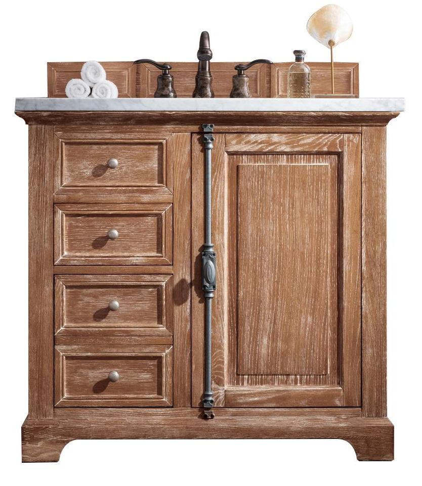 "36"" Providence Driftwood Single Bathroom Vanity, James Martin Vanities - vanitiesdepot.com"