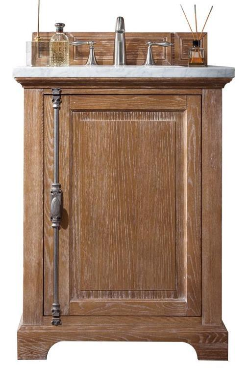 "26"" Providence Driftwood Single Bathroom Vanity, James Martin Vanities - vanitiesdepot.com"