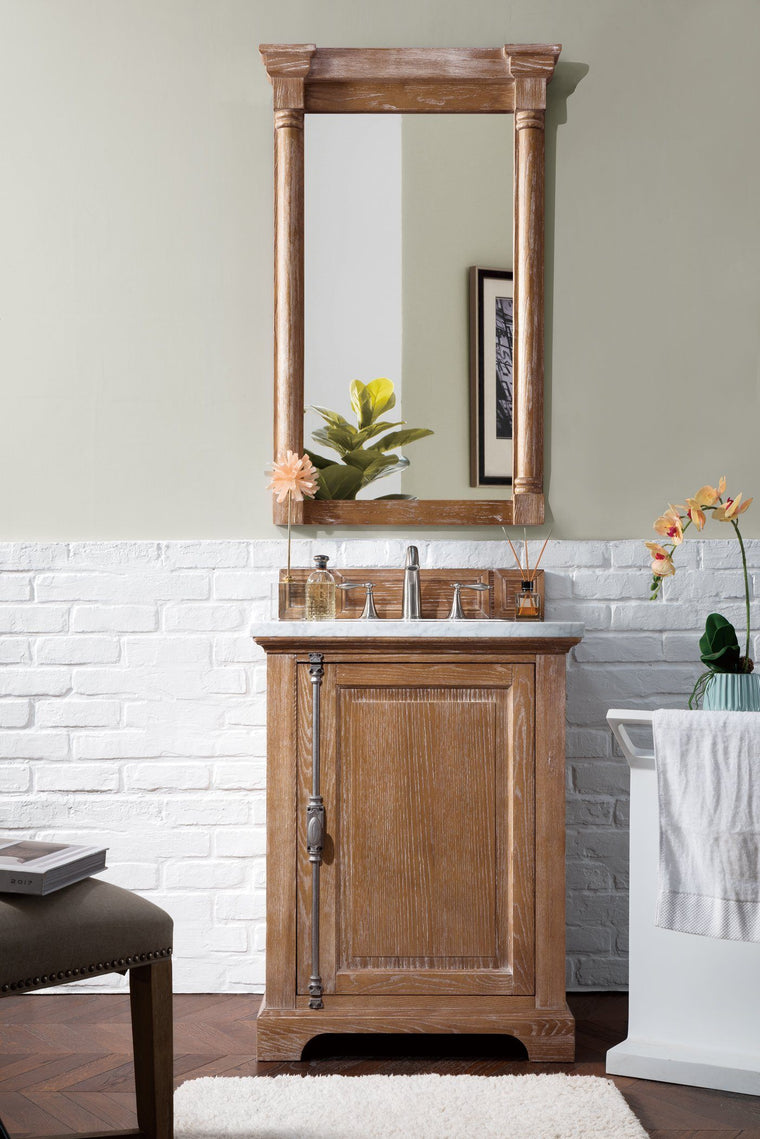 "26"" Providence Driftwood Single Bathroom Vanity - vanitiesdepot.com"