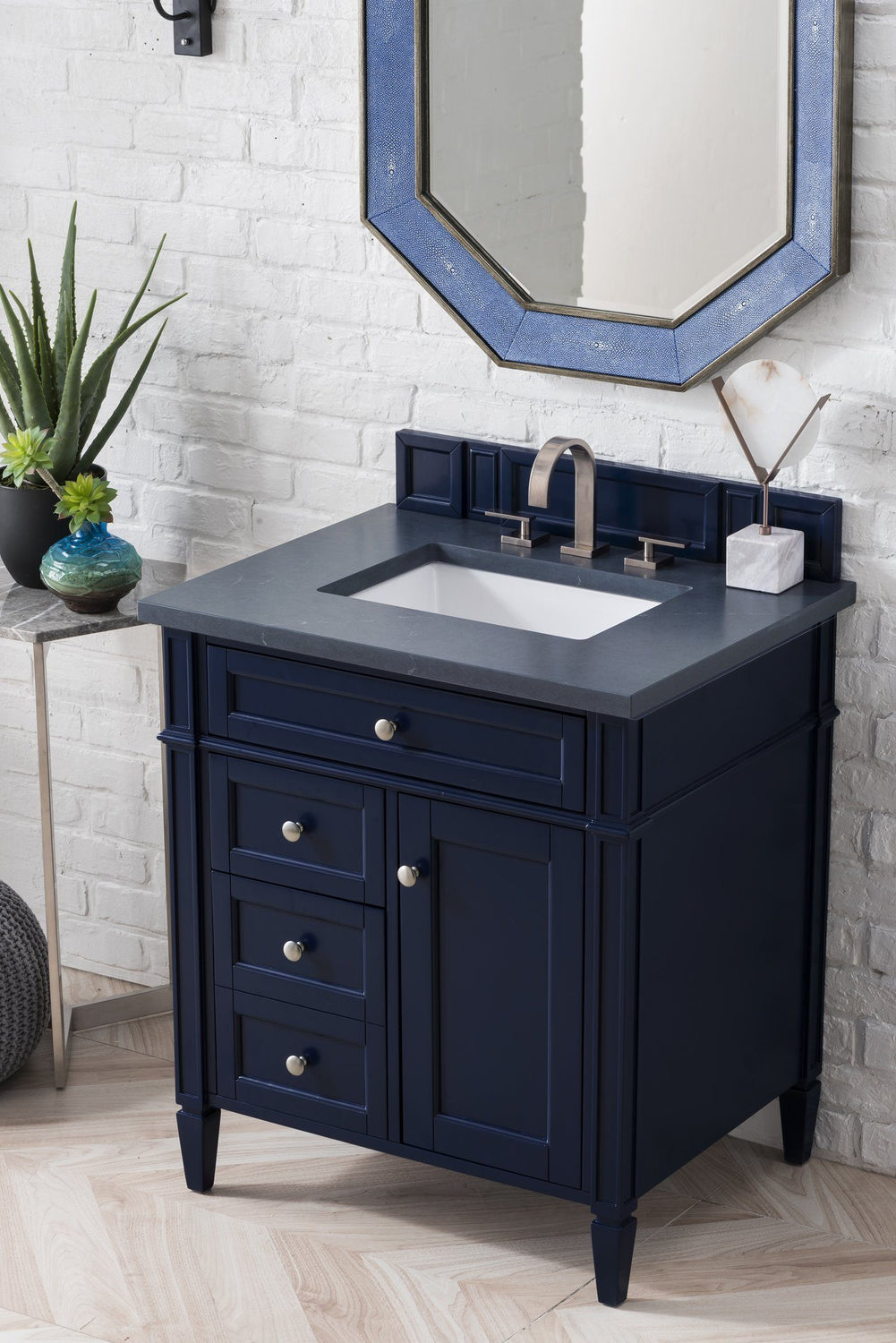 30 Quot Brittany Single Bathroom Vanity Victory Blue