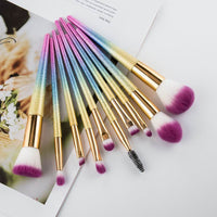 Professional 10pcs 3D Makeup Brushes