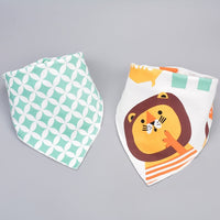 Cotton Baby Bibs Triangle Towel for Newborn Boy Girl
