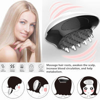 Cloliva™ Electric Handheld Scalp Massager for Stimulating Hair Growth & Stress Release