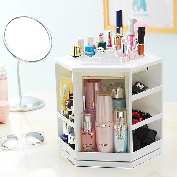 360 Degree Rotating Cosmetics Organizer