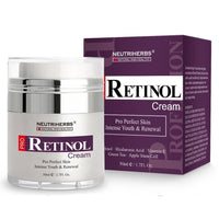 Neutriherbs Retinol Facial Cream - Hyaluronic Acid Vitamin E Collagen Cream