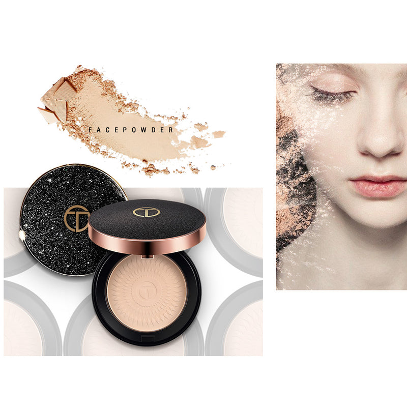 Oil-control Brighten Concealer Pressed Powder