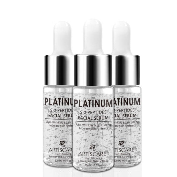 Platinum Six Peptides Facial Serum 3pcs