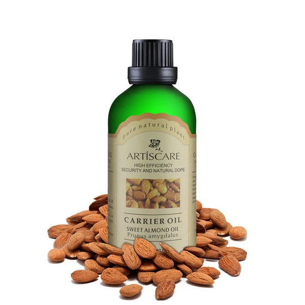 100% Natural Almond Oil for Skin and Hair - 100ml