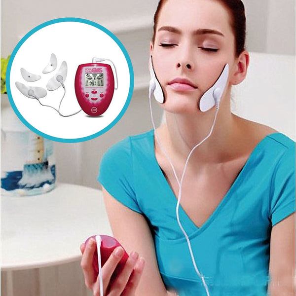 Electric Face Muscle Stimulator - EMS Facial Massage