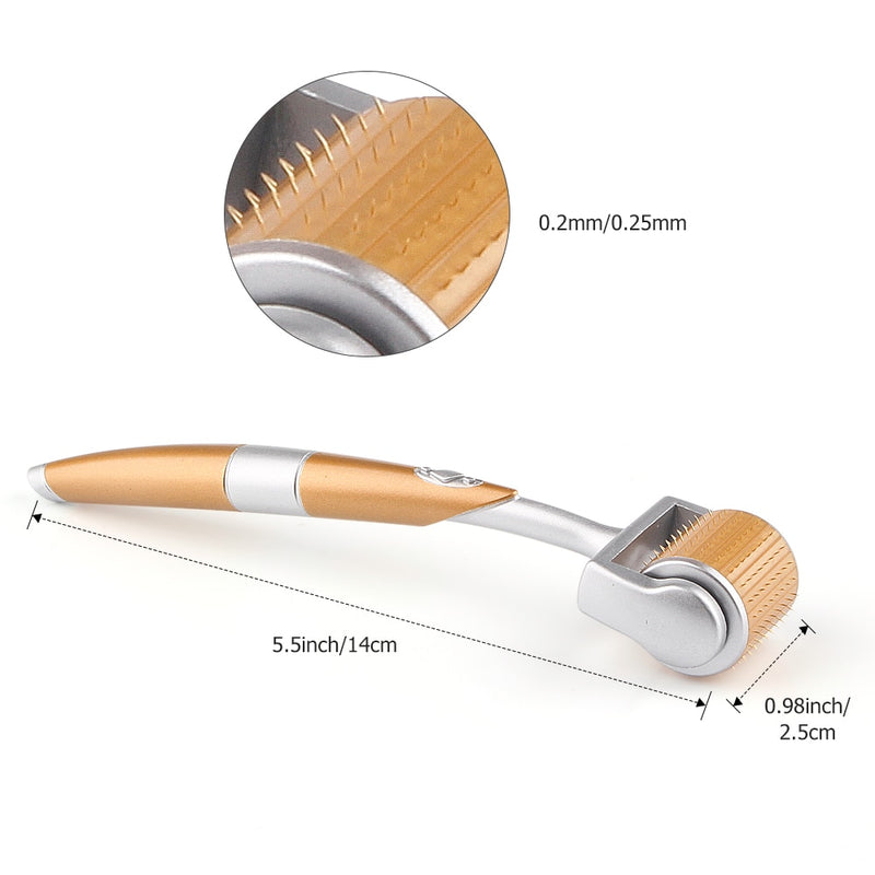 Gold Titanium Facial Massager