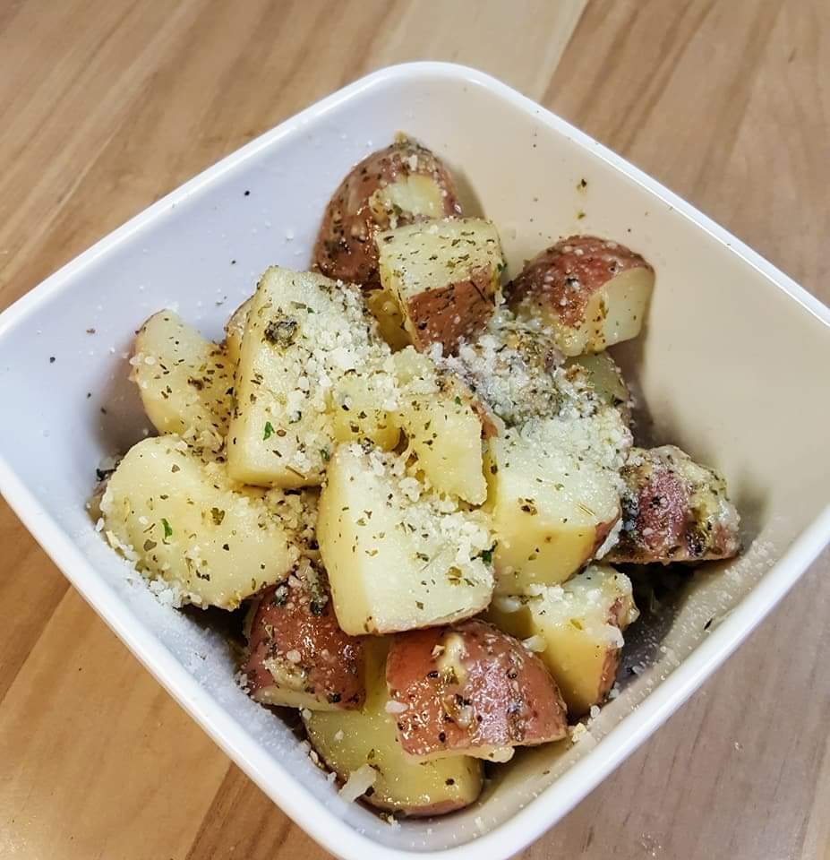 Parmesean Butter Potatoes