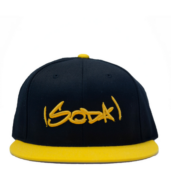 SODA Snapback Black/Gold
