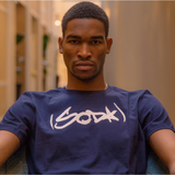 SODA T-Shirt - Navy/White
