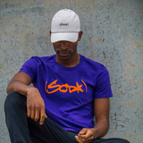 SODA T-Shirt - Purple/Orange