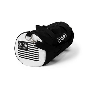 SODA Duffel Bag - BLACK/WHITE