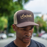 SODA Snapback - Brown / Khaki