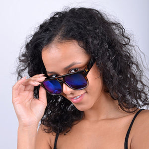 Fashion Mirrored Sunglasses