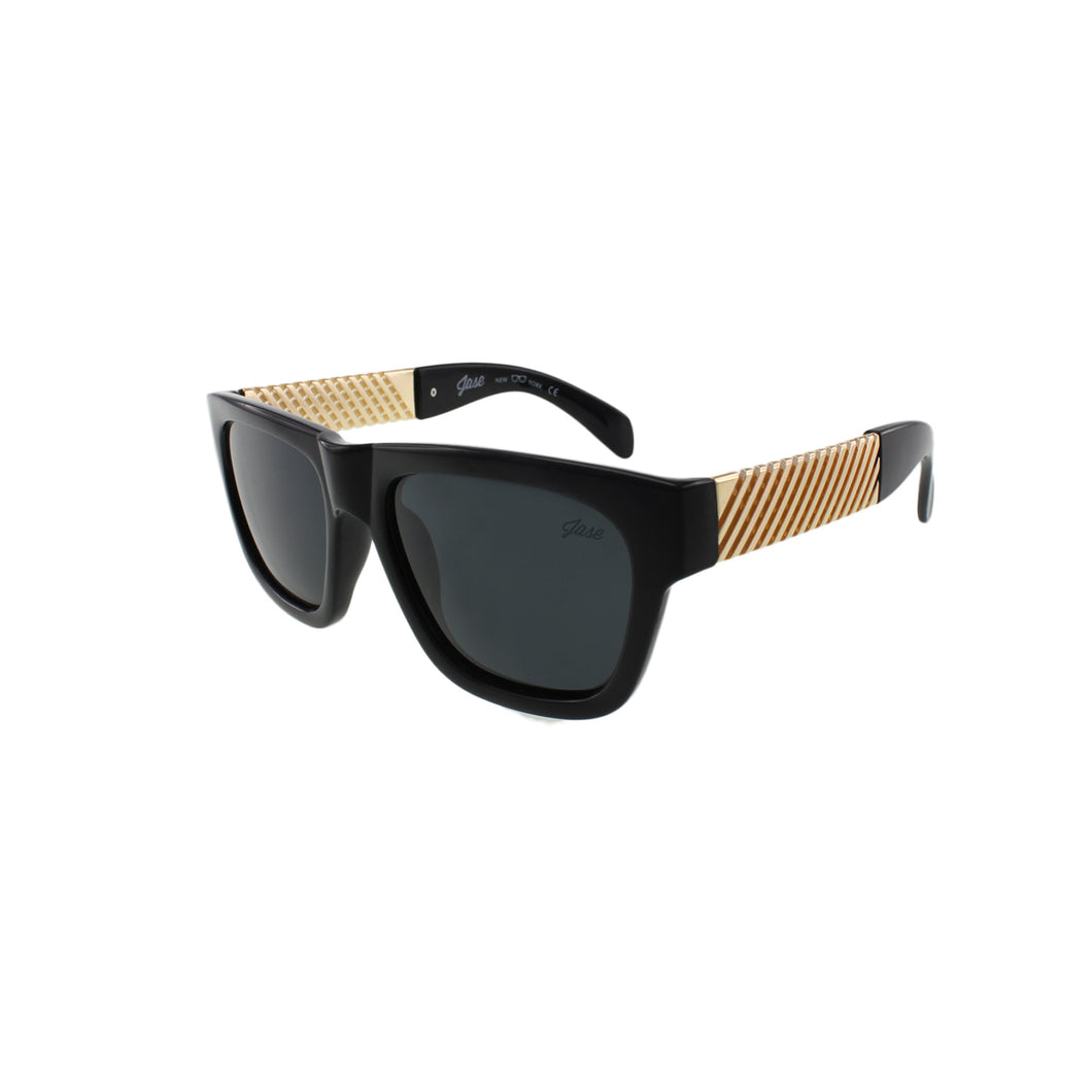 Jase New York Royce Sunglasses in Gloss Black