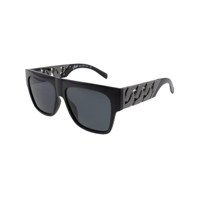Jase New York Cache Sunglasses in Gunmetal