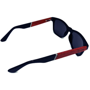 Cherry Wood and Acetate Polarized Sunglasses