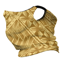 Gold/Black Tribal Gaiter