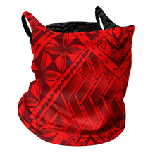 Red/Black Tribal Gaiter