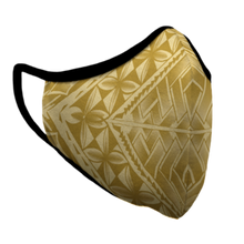Gold Tribal Mask