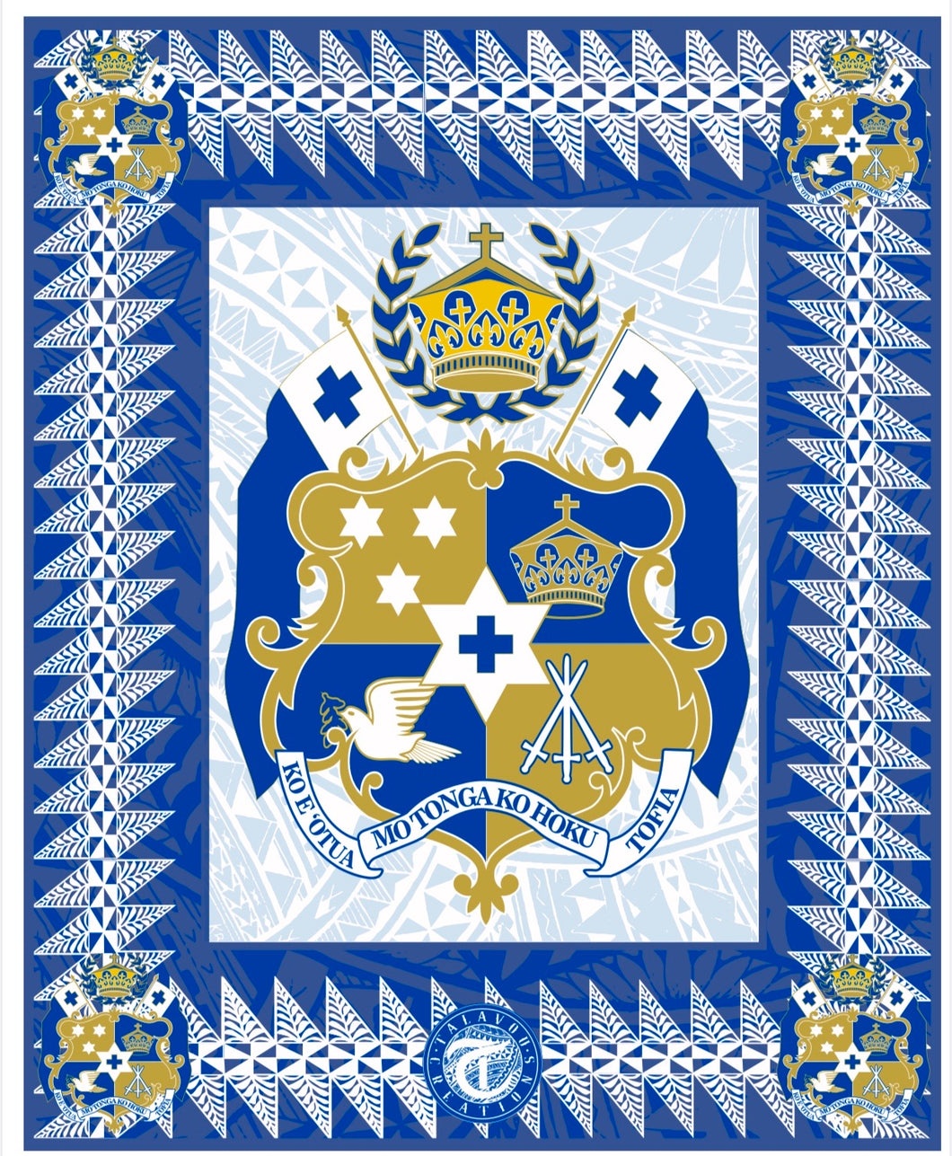 Royal Blue Tongan Sila