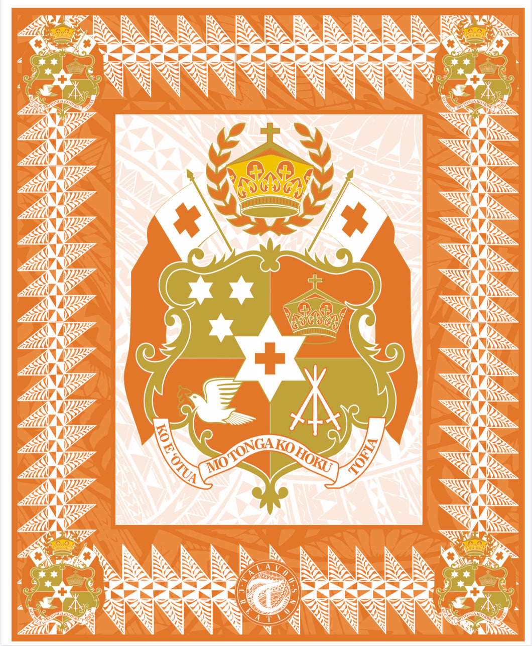 Orange Tongan Seal