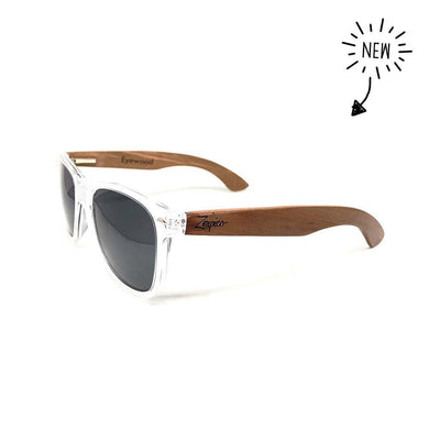 Eyewood Wayfarer - Crystal Black