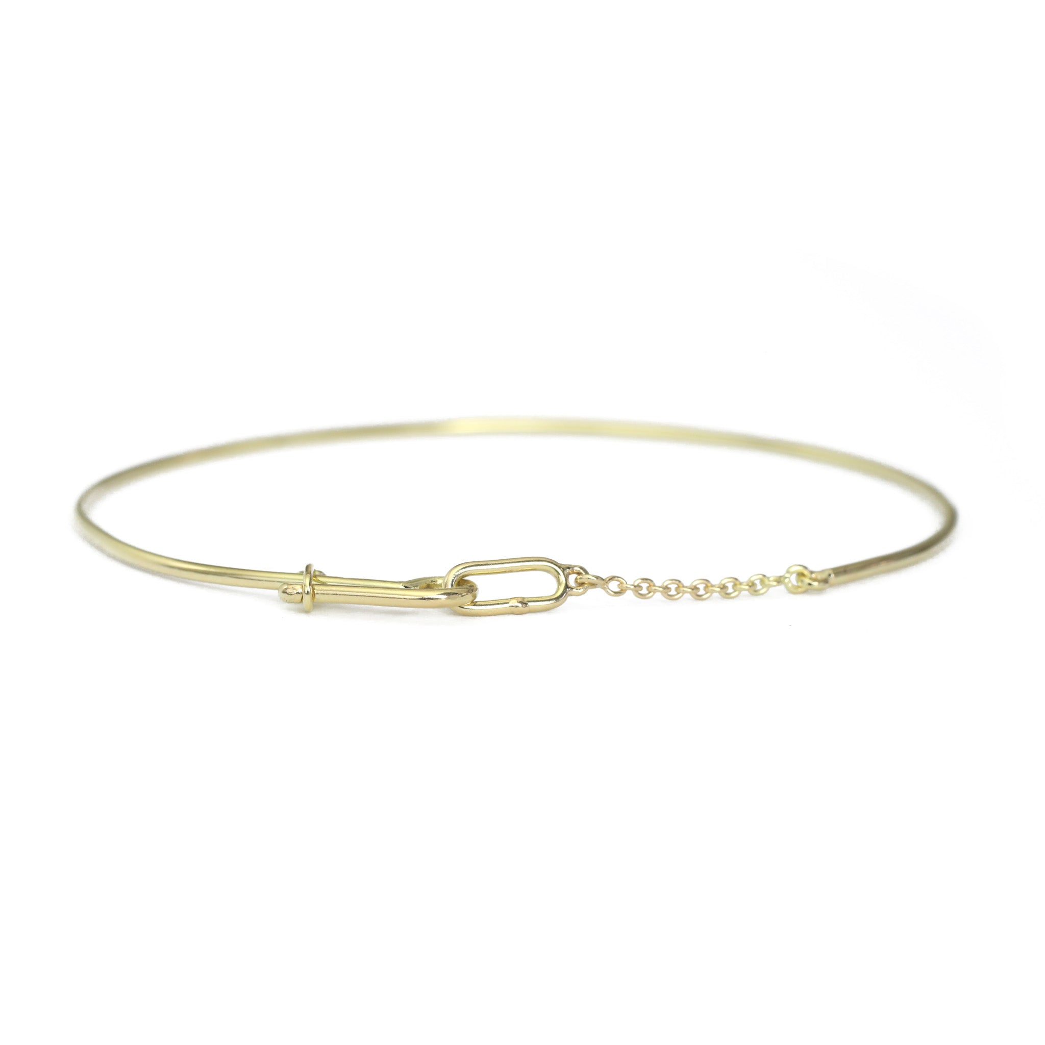 Chained Bangle - Lightweight