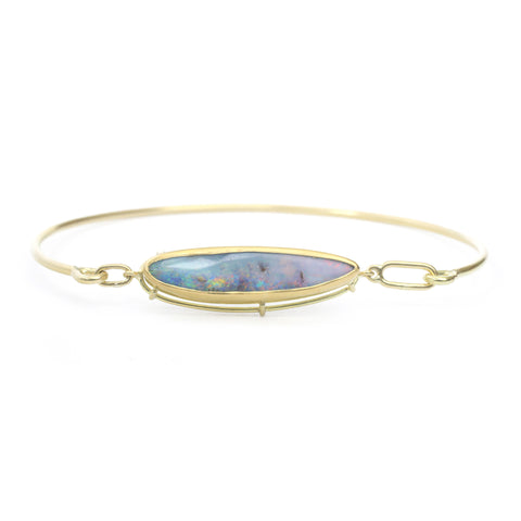 Needle Eye Cuff - Diamond Baguettes
