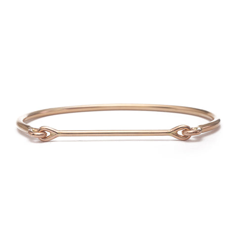 Needle Eye Cuff - Single Line Pavé