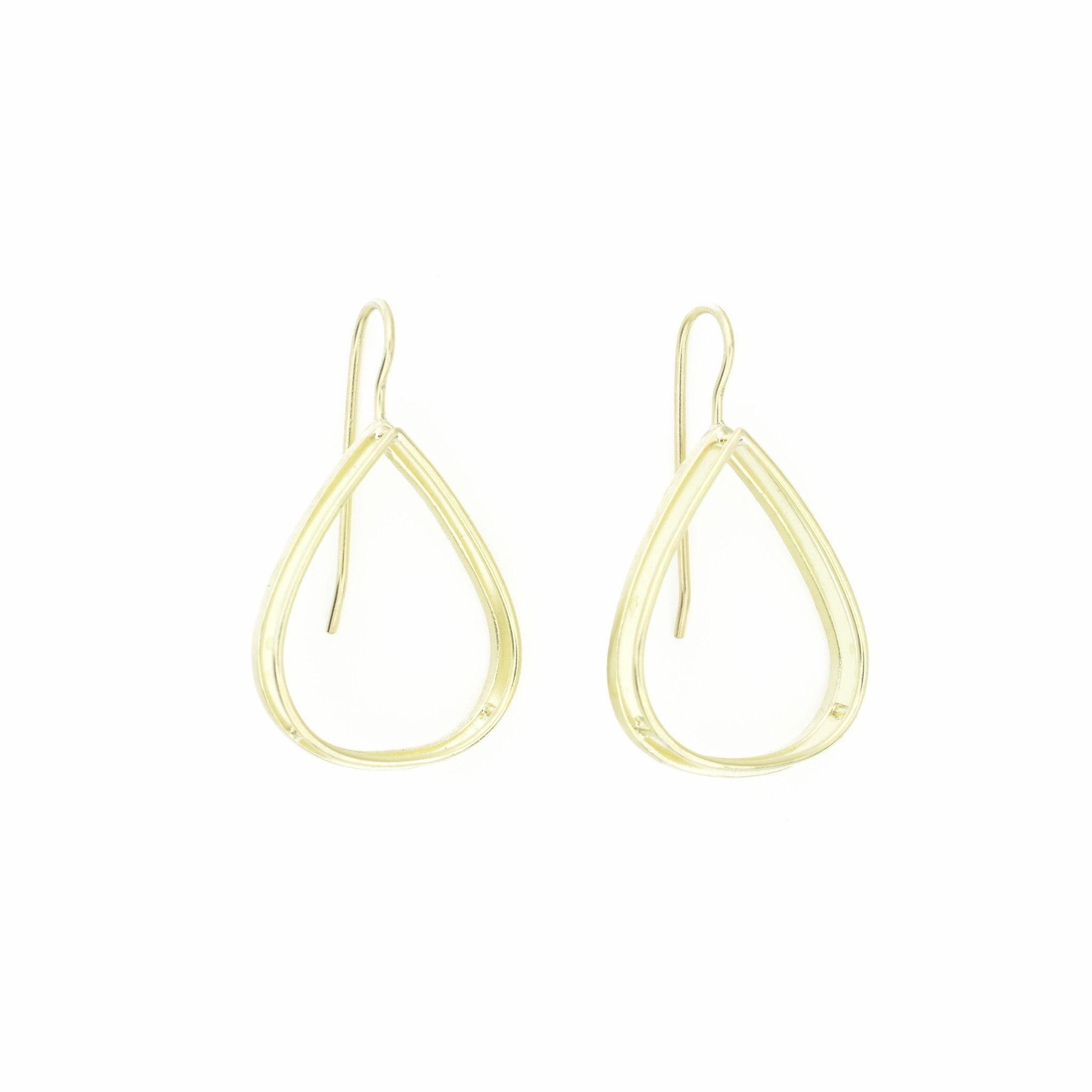 Open Shadow Drop Earrings