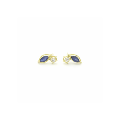 Oval Shadow Earrings
