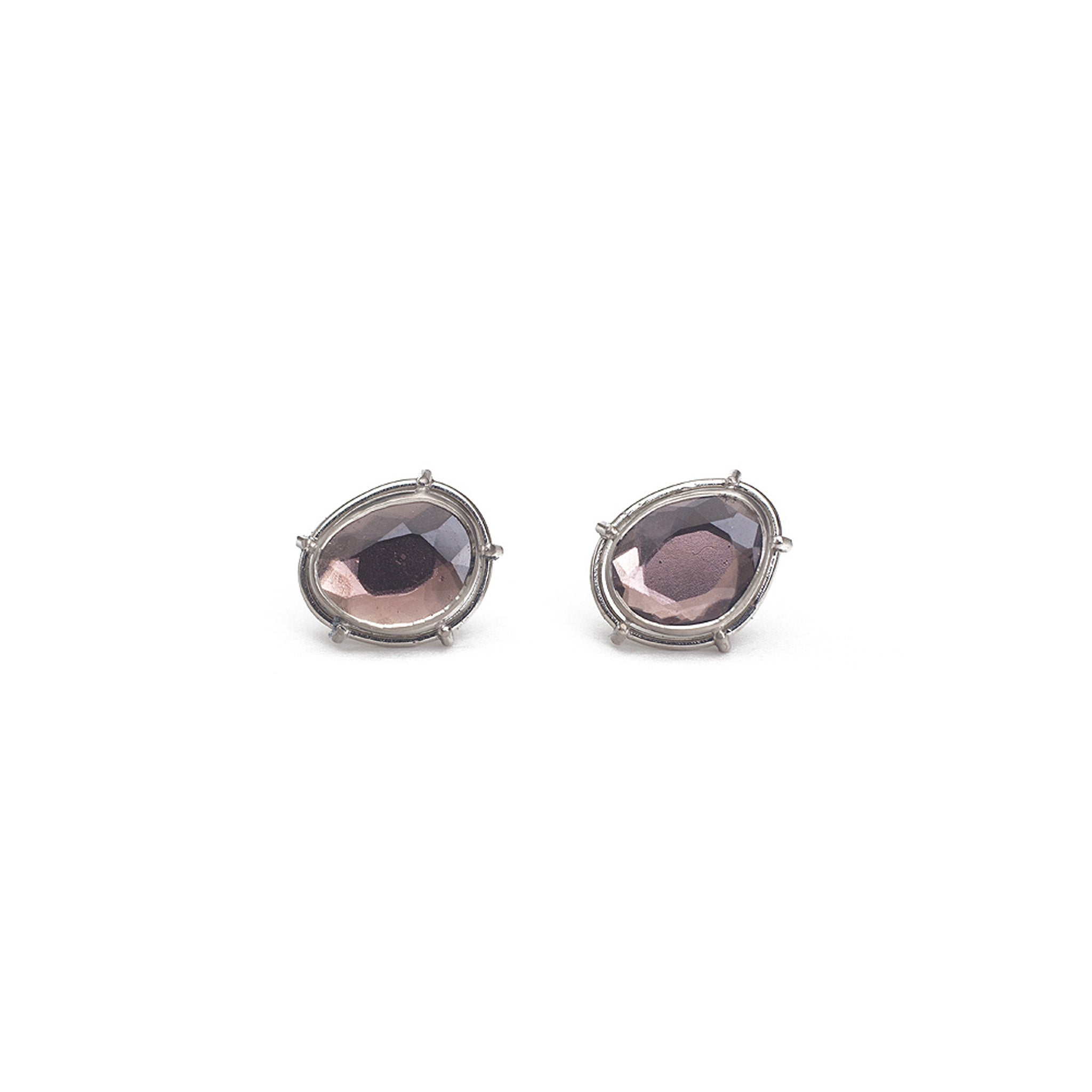 Mauve Spinel Earrings