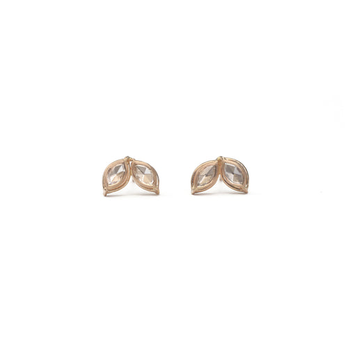 Dual Marquis Diamond Earrings