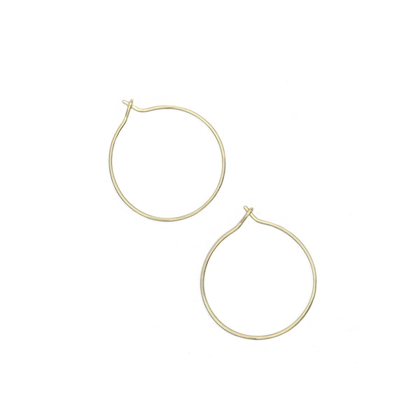 Hoop Earrings - Medium